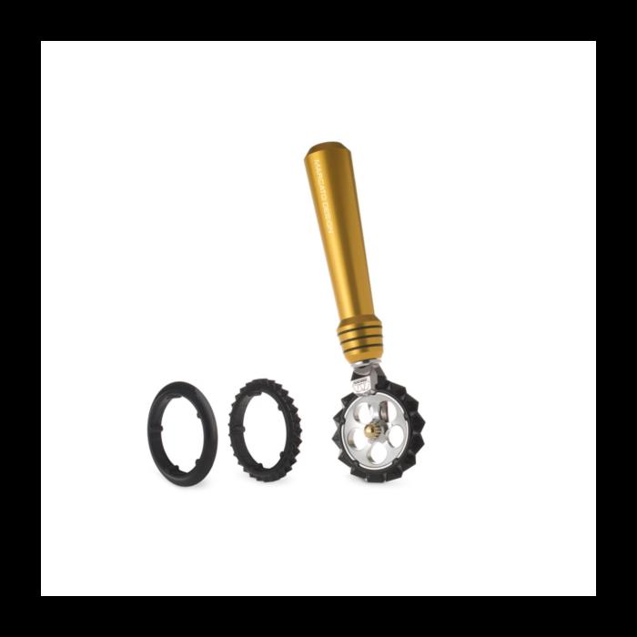 Фигурный нож для теста Marcato Pastawheel Gold